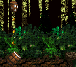 Donkey Kong Country - cool barrels - User Screenshot