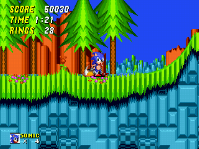 Sonic 2 XL - i got a tail - User Screenshot