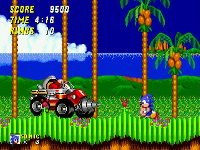 Sonic 2 XL - Egg:wow sonic your going to look like me  - User Screenshot