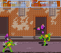 Teenage Mutant Ninja Turtles IV - Turtles in Time - poor mike - User Screenshot
