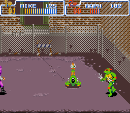 Teenage Mutant Ninja Turtles IV - Turtles in Time - ahhhhhhh - User Screenshot