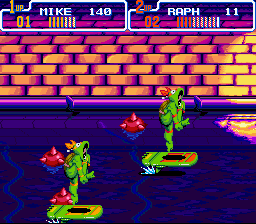 Teenage Mutant Ninja Turtles IV - Turtles in Time - ow again - User Screenshot