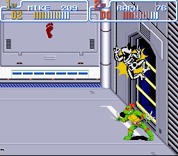 Teenage Mutant Ninja Turtles IV - Turtles in Time - science - User Screenshot