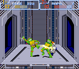 Teenage Mutant Ninja Turtles IV - Turtles in Time - elecric slide - User Screenshot
