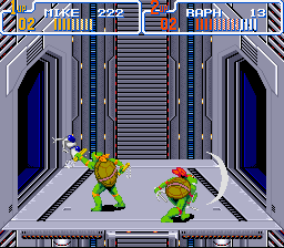 Teenage Mutant Ninja Turtles IV - Turtles in Time - ow - User Screenshot