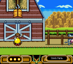 Pac-Man 2 - The New Adventures - Getting yelled at by the farmer for nothing. - User Screenshot