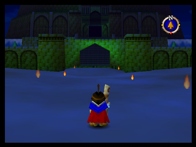 Quest 64 - Shamwood Secret Castle, found in Dindom Dries - User Screenshot