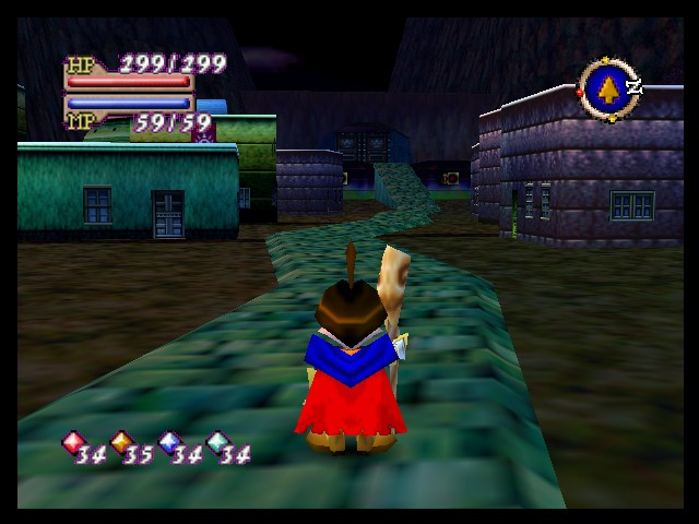 Quest 64 - Location  - Brannoch Castle Town - User Screenshot
