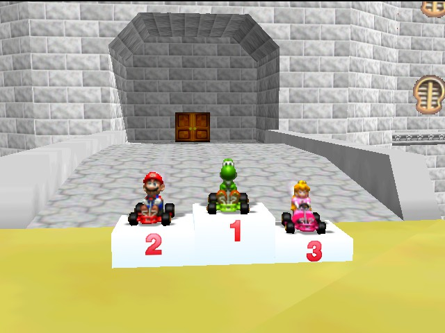 Mario Kart 64 - 2nd Time - User Screenshot
