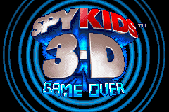 Spy Kids 3-D - Game Over - Introduction  -  - User Screenshot