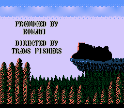 Castlevania - Ending  - Thank you Konami, thank you! - User Screenshot
