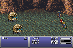 Final Fantasy VI Advance - No, YOU rock. - User Screenshot