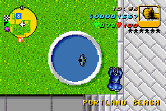 Grand Theft Auto Advance - im on a trampoline :) - User Screenshot