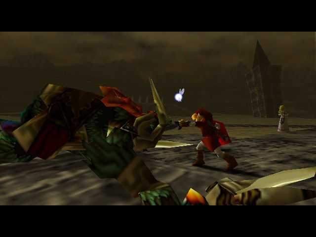Legend of Zelda, The - Ocarina of Time - ITS OVER!!!! - User Screenshot