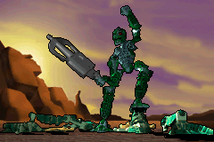 Bionicle Heroes - kongu is a good shot - User Screenshot