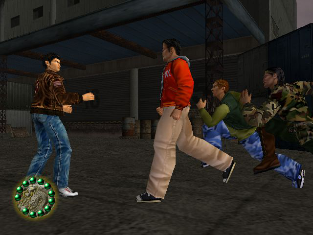 Shenmue - Battle  - Fight at the Harbor - User Screenshot