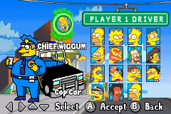 The Simpsons - Road Rage -  - User Screenshot