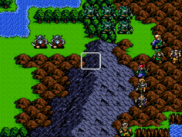 Shining Force - Battle  -  - User Screenshot