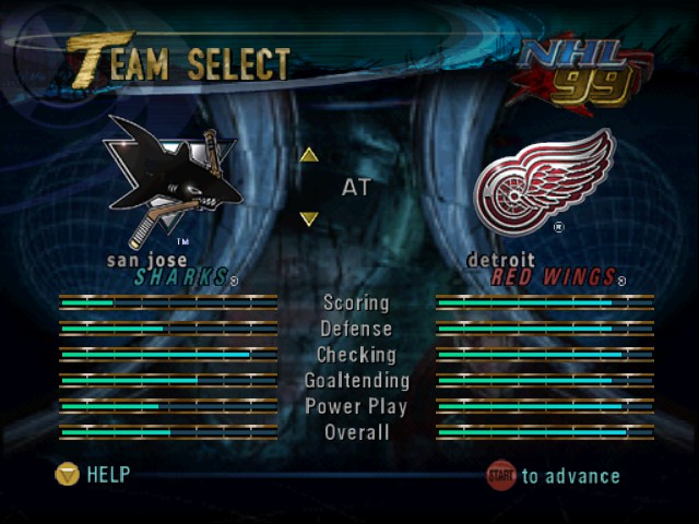 NHL Breakaway 98 -  - User Screenshot