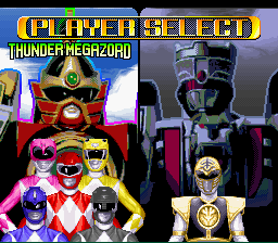 Mighty Morphin Power Rangers - Fighting Edition -  - User Screenshot