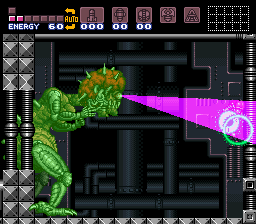 Super Metroid - Battle  -  - User Screenshot
