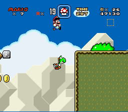 Super Mario All-Stars  Super Mario World - Betrayal - User Screenshot
