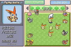 Pokemon Dark Rising (beta 2) - WALL OF VICTINI - User Screenshot