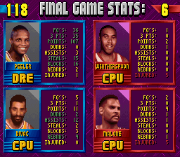 NBA Jam - Tournament Edition - triple double for me - User Screenshot