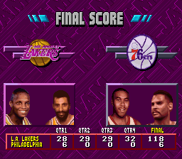 NBA Jam - Tournament Edition - 1st was my worst - User Screenshot
