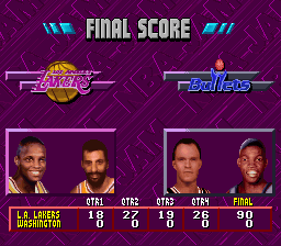 NBA Jam - Tournament Edition - A Little Past A Blowout - User Screenshot