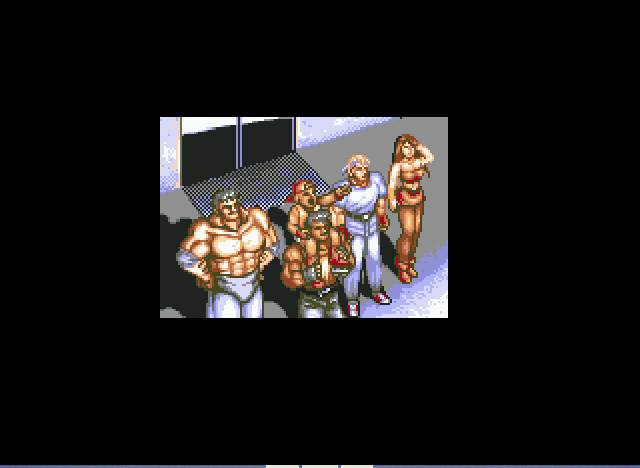 Streets of Rage 2 - man that sun is bright!!! - User Screenshot