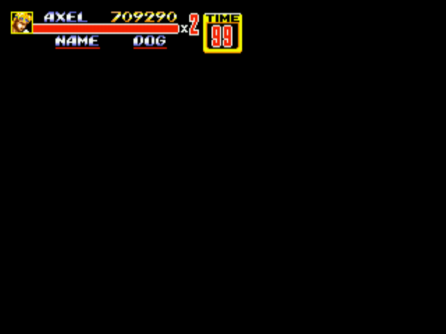 Streets of Rage 2 - no continues,b****!!! - User Screenshot
