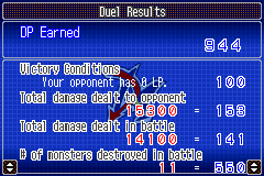 Yu-Gi-Oh! GX - Duel Academy - That 15000, yeah, not that hard. - User Screenshot
