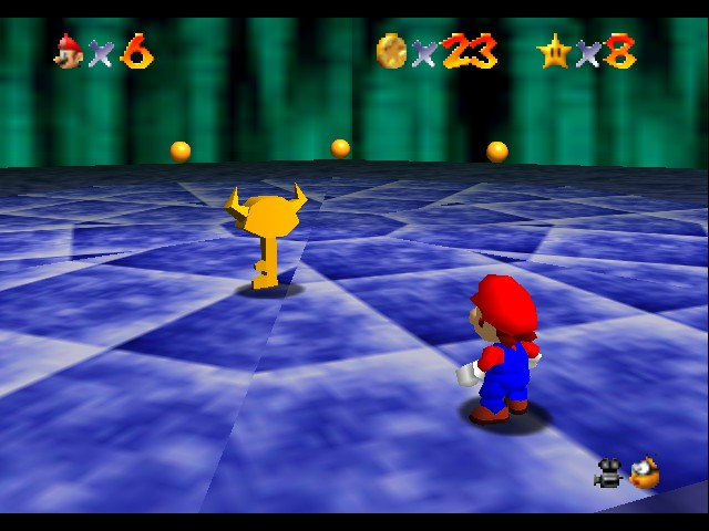Super Mario 64 - Level Bowser In the Dark World - is shiny that good? lol - User Screenshot