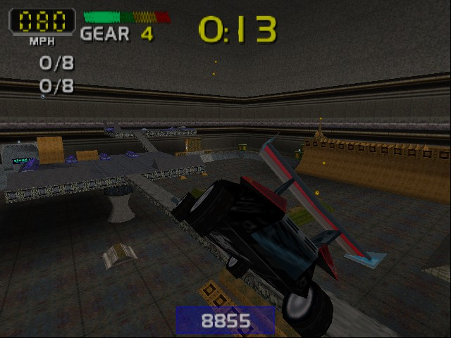 San Francisco Rush 2049 - stunt level 4 - User Screenshot