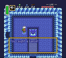 Legend of Zelda, The - A Link to the Past - a faerie. ok - User Screenshot