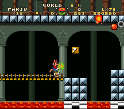 Super Mario Bros Deluxe - Yoshi Firehead - User Screenshot