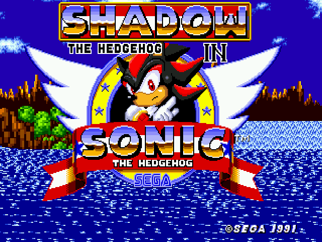 Shadow the Hedgehog - Title Screen - User Screenshot