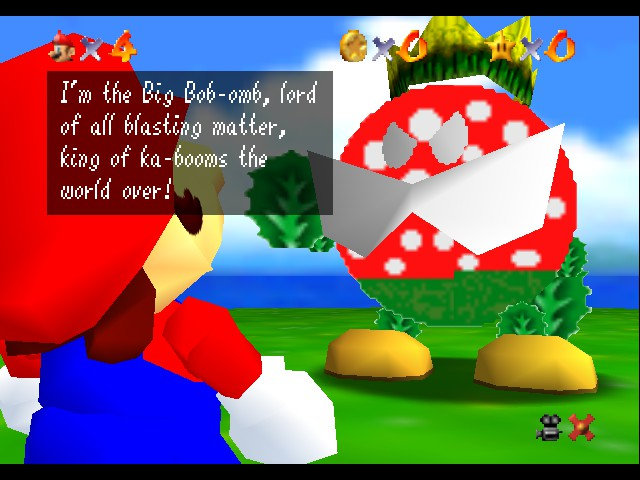 Super Mario Sunshine 64 - King Bob Omb  - User Screenshot