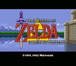 Zelda 3 - Day & Night Cycle - Title Screen - User Screenshot