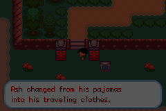 Pokemon Ash Gray (beta 3.61) - Change clothes in public? Ew... - User Screenshot