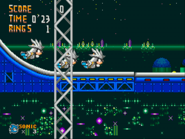 Sonic 1 - Revelation - Silver - User Screenshot
