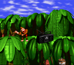Donkey Kong Country - DK getting funky - User Screenshot