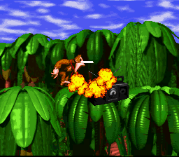 Donkey Kong Country - ATOMIC BOMB - User Screenshot