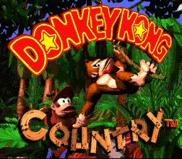 Donkey Kong Country - Title - User Screenshot