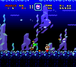 Brutal Mario (demo 7) - Yoshi Mario Campfire...UnderWater - User Screenshot