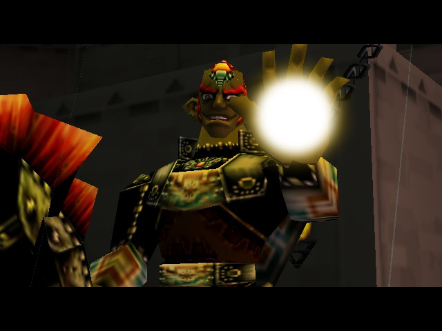 The Legend of Zelda - Ocarina of Time - Master Quest - HE has BIG ears! - User Screenshot