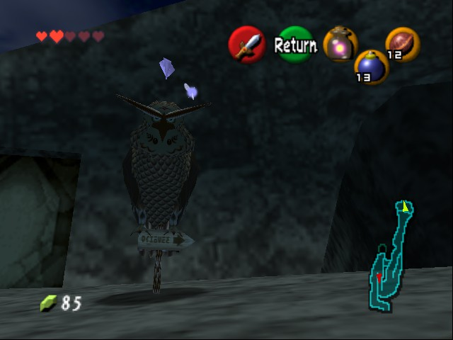Zelda - Ocarina of Time - Master Quest - NooooO! - User Screenshot