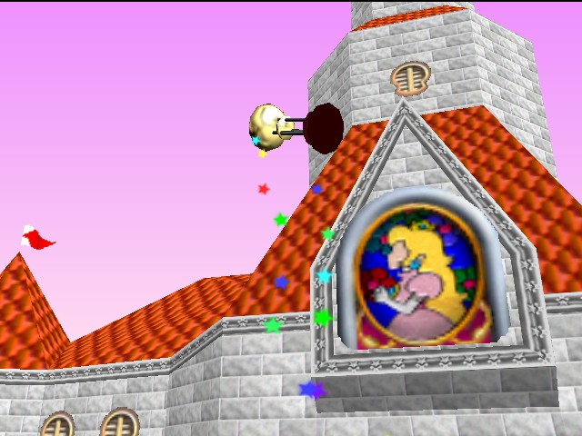 Mario Kart 64 - This was an accidental photo, K? - User Screenshot