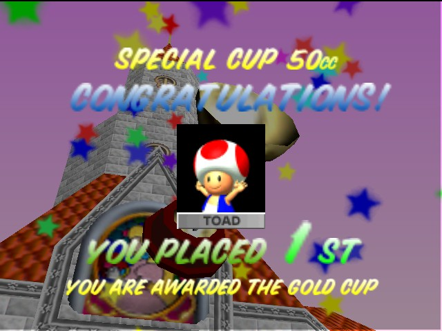 Mario Kart 64 - *Sniff* I am so touched. ;_; - User Screenshot
